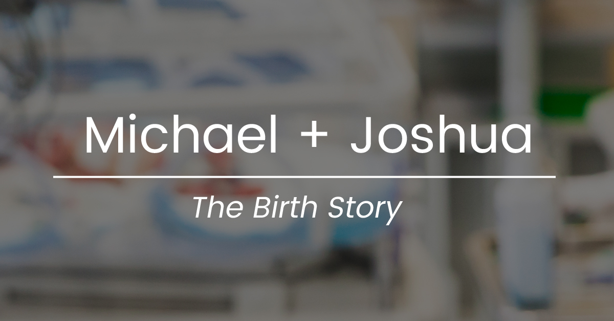 michael joshua birth story